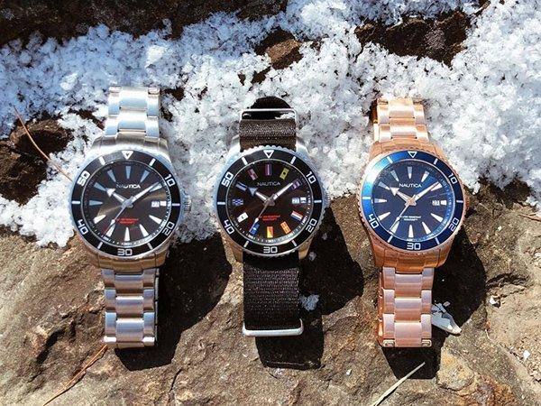 Nurkowe inspiracje zegarków Nautica męskich