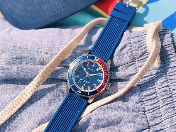 Nad wodę i na co dzień z zegarkami męskimi Nautica