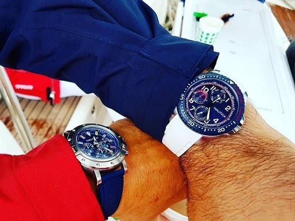 Inspirowane morzem zegarki Nautica