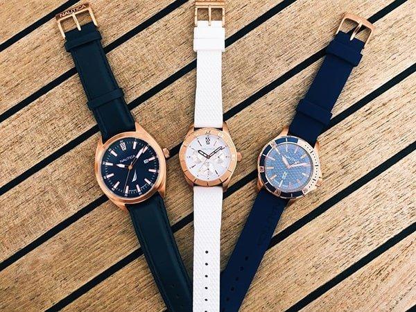 Wytrzymała obudowa zegarków Nautica