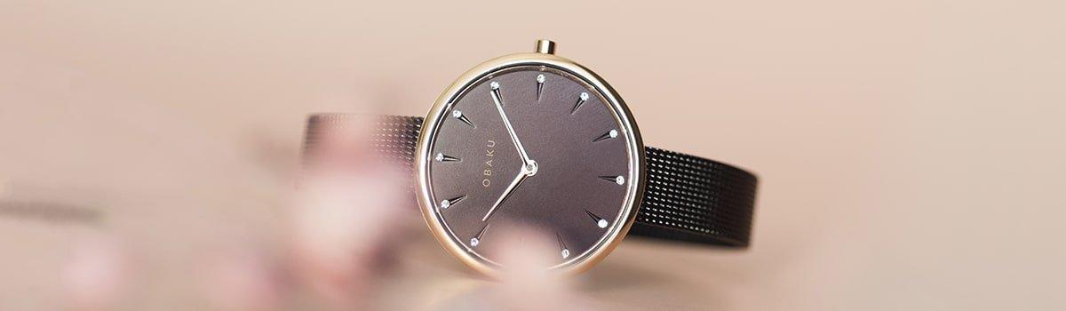 Harmonia Zen w zegarkach damskich Obaku