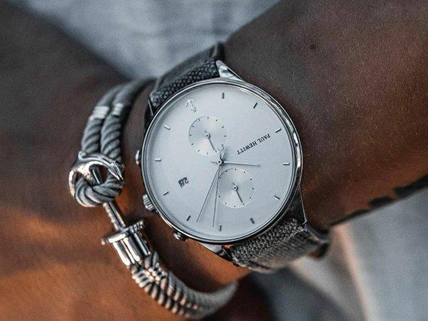 Stylowy zegarek Paul Hewitt na pasku