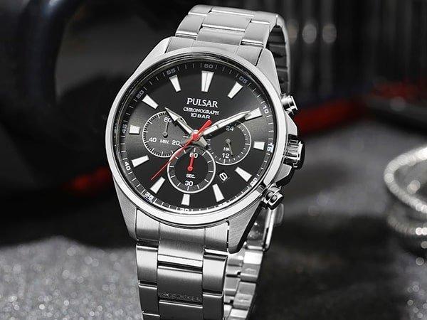 Sportowe zegarki Pulsar męskie