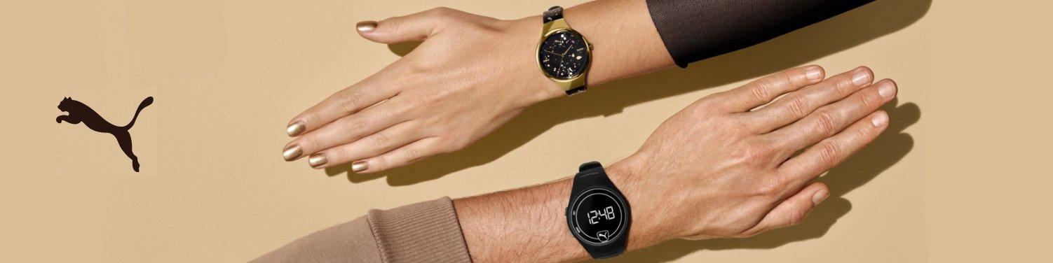 Zegarki Puma dla aktywnego mężczyzny oraz aktywnej kobiety