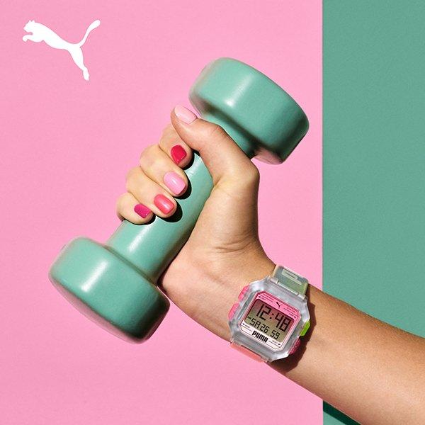 Dynamiczne wzornictwo zegarków Puma
