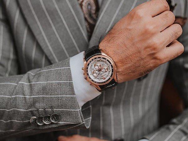 Wyrafinowane zegarki Roamer męskie