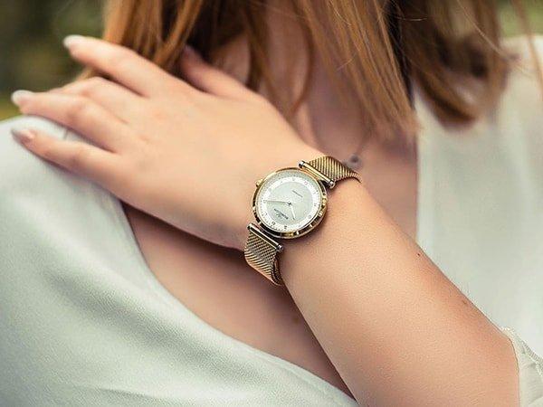 Zegarki Rubicon na bransolecie mediolańskiej