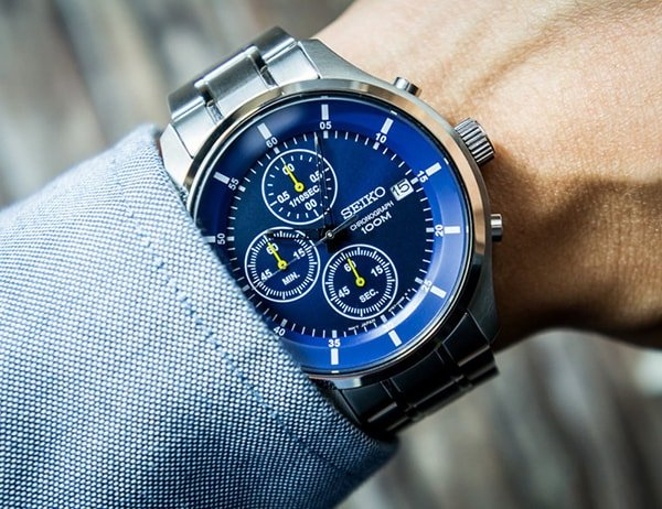 Zegarki Seiko Chronograf wysokiej jakości wykonania