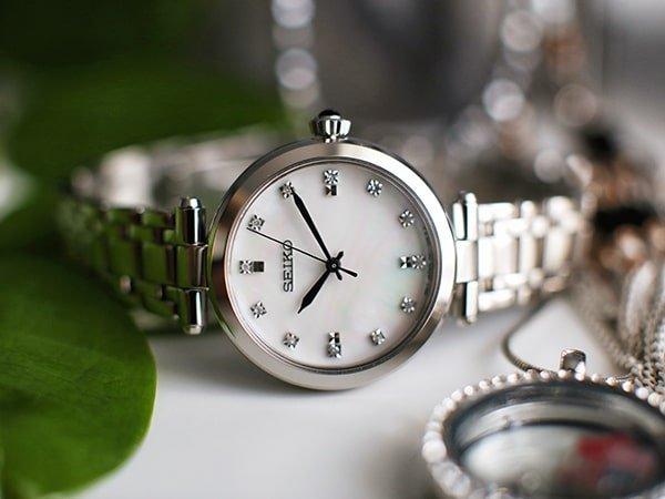 Dlaczego warto postawić na damski zegarek Seiko?