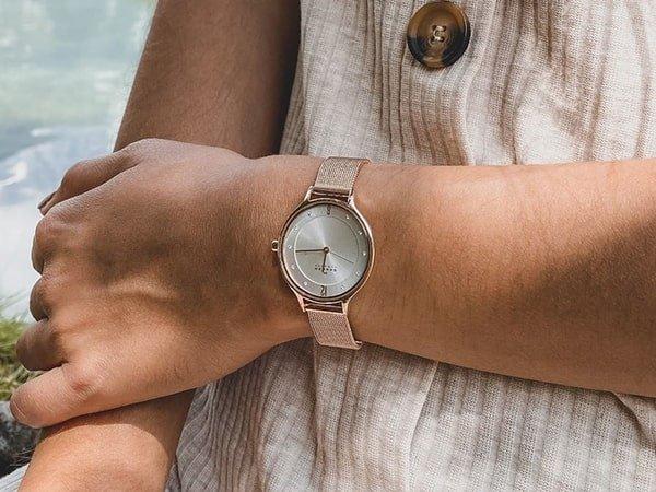 Skandynawski styl zegarków Skagen damskich