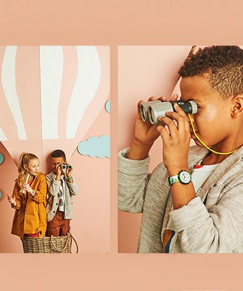 Zegarki Swatch dla dzieci.