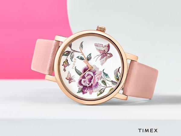 W zegarkach damskich Timex nic nie jest dziełem przypadku