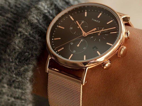 Zegarki Timex na bransolecie mediolańskiej