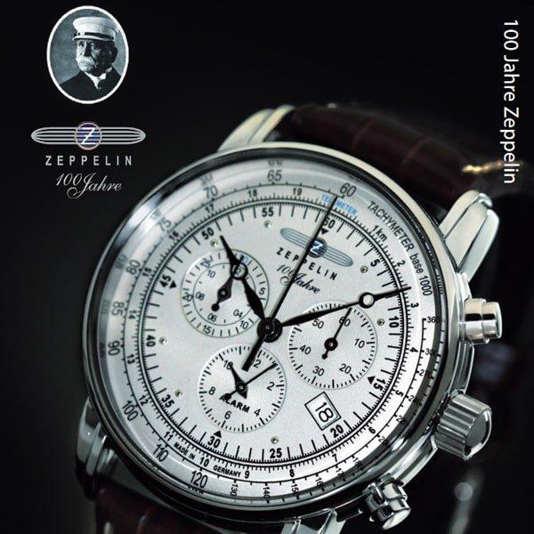 Zegarek Zeppelin 100 Years ED 1 jako zegarek poświęcony sterowcom