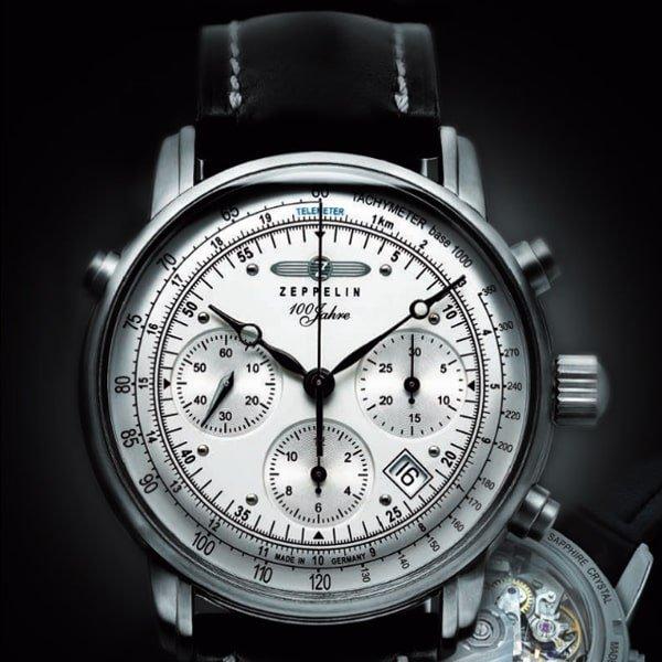 Ponadczasowy wygląd zegarka Zeppelin 100 yeras Zeppelin Ed 1