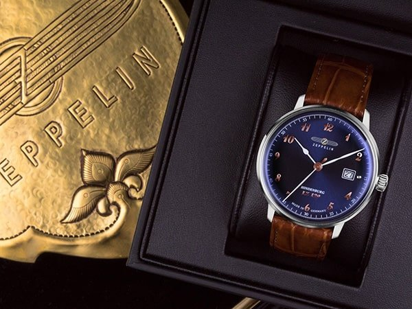 stare czasy zegarkow Zeppelin LZ129 Hindenburg