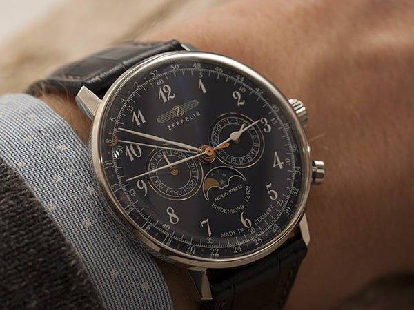 Kolorystyka zegarków Hildenburg LZ129