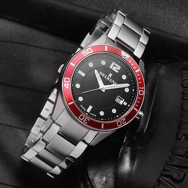 Sportowy charakter w zegarkach Delbana