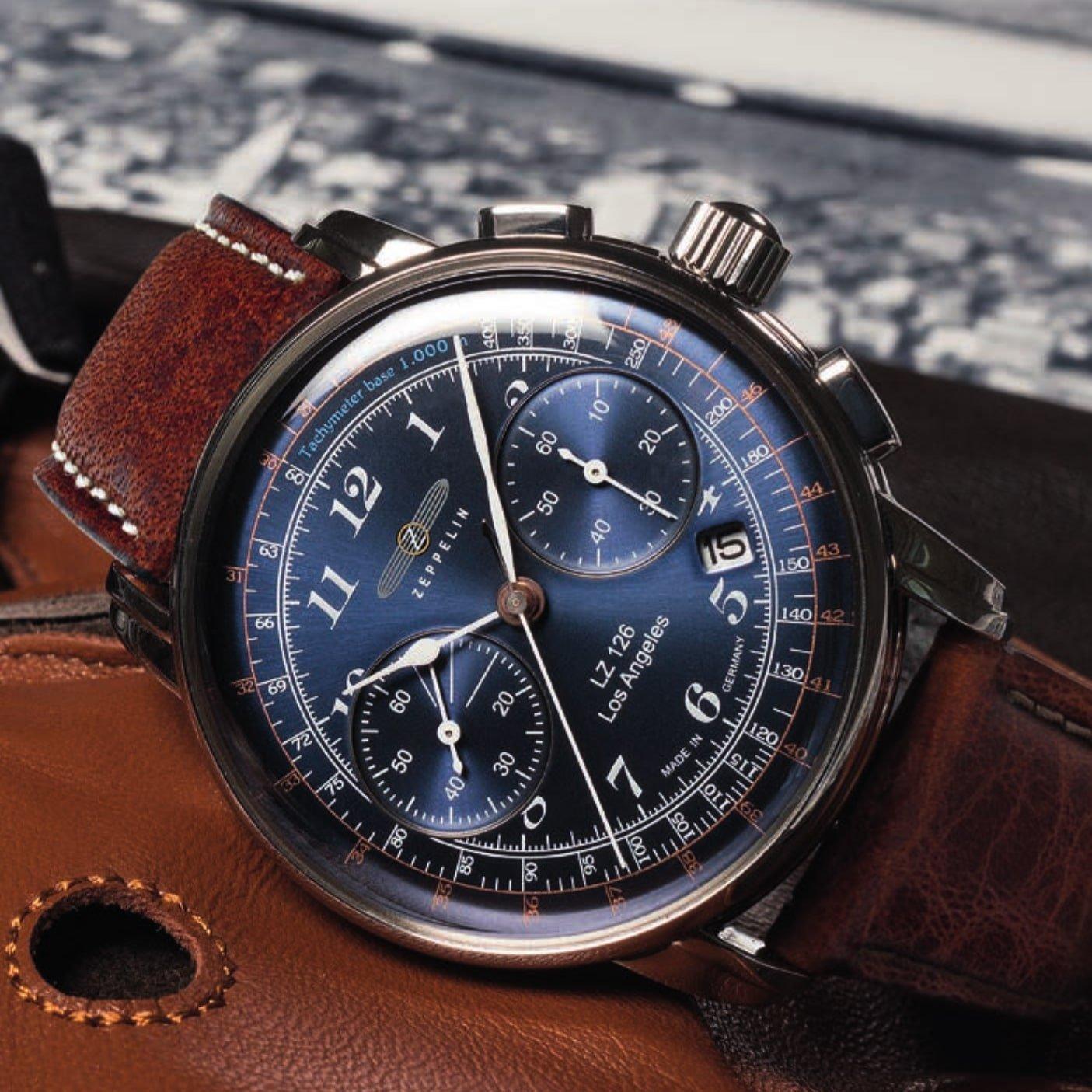 Elegancki zegarek Zeppelin nawiązujący do historycznych podróży