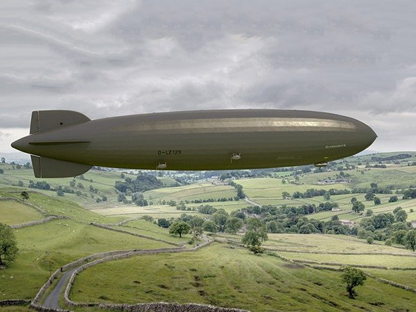 sterowiec jako inspiracja zeppelin