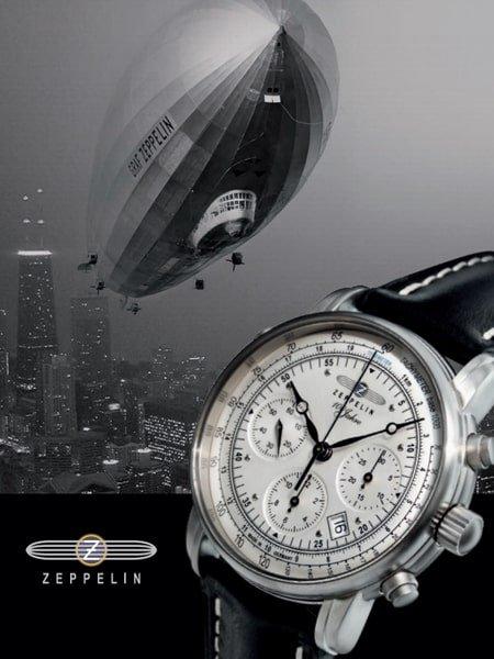 Zegarki Zeppelin - szwajcarska precyzja, lotniczy design