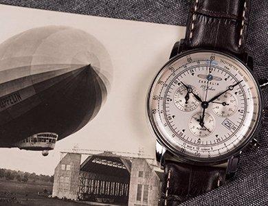 Zeppelin – zegarki stworzone z pasji do lotnictwa. Odkryj propozycje marki Zeppelin