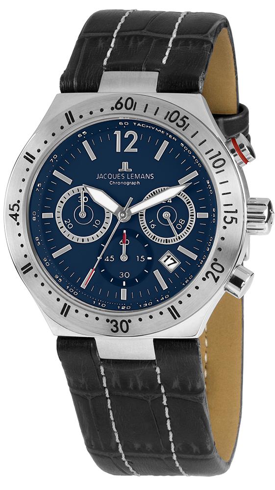 Jacques Lemans 1-1837C - zegarek męski