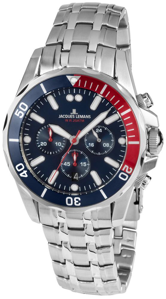 Jacques Lemans 1-1907ZF - zegarek męski
