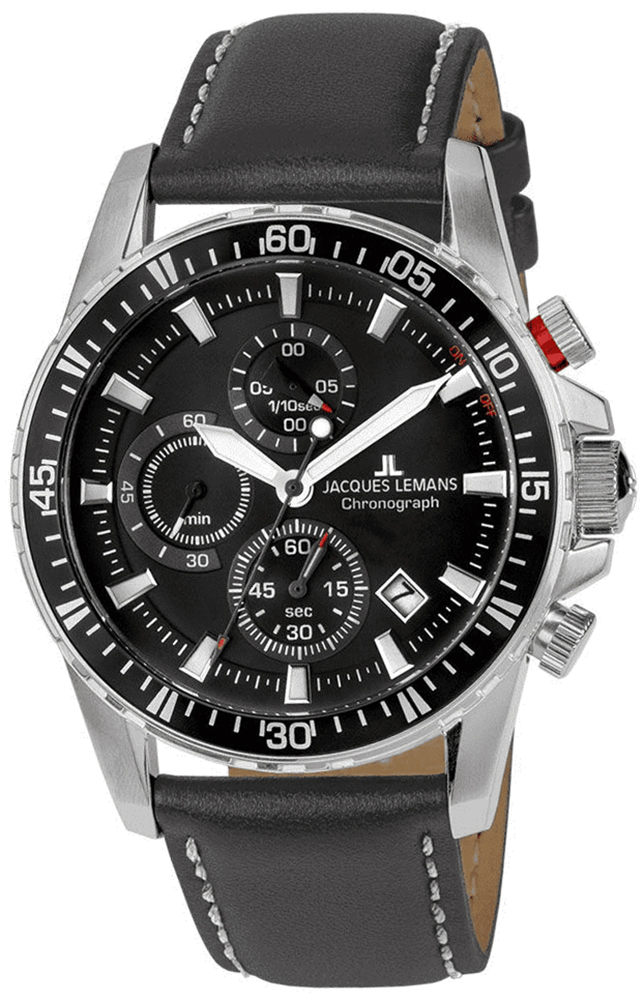 Jacques Lemans 1-2088A - zegarek męski