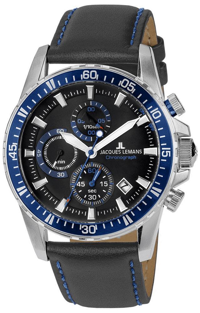 Jacques Lemans 1-2088B - zegarek męski