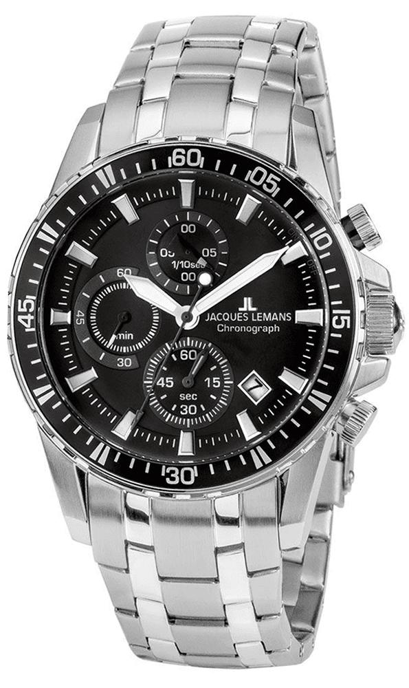 Jacques Lemans 1-2088D - zegarek męski