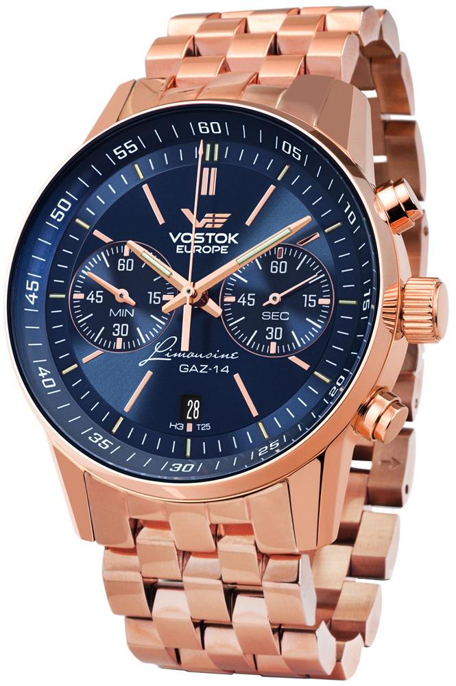 Vostok Europe 6S21-565B596B - zegarek męski