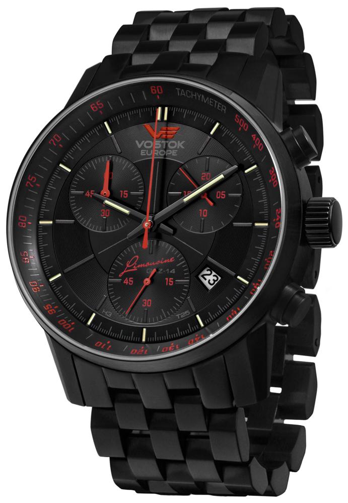 Vostok Europe 6S30-5654176B - zegarek męski