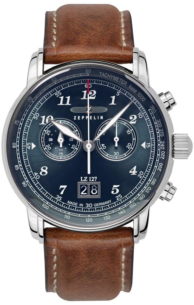 Zeppelin 8682-3 - zegarek męski