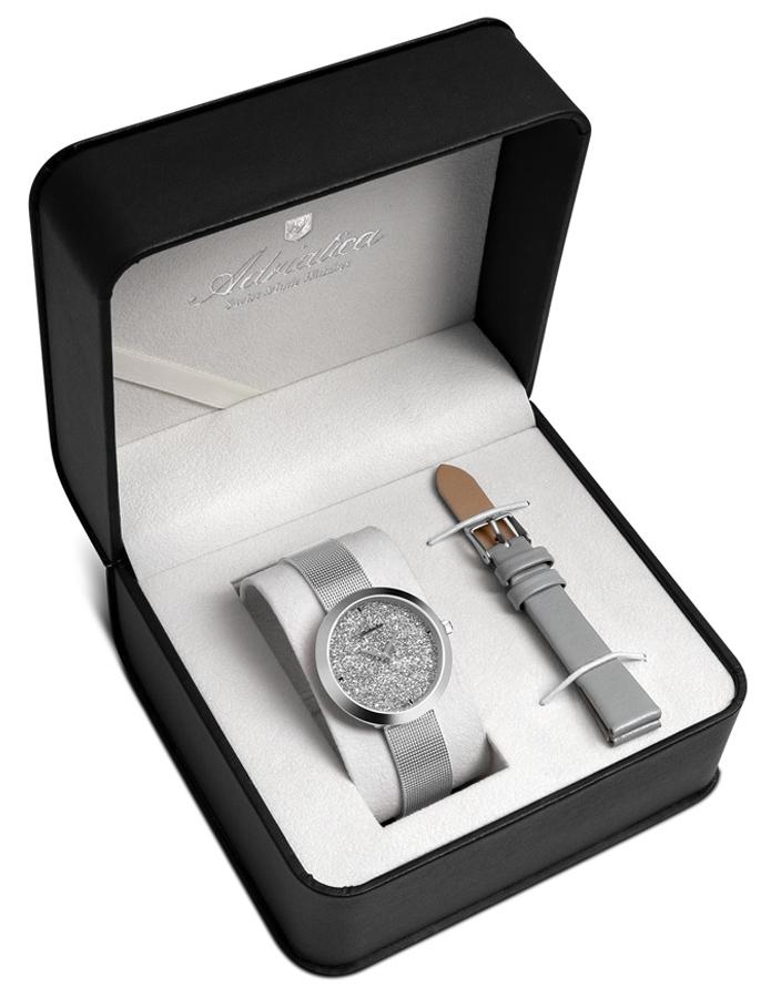 Adriatica A3646.5113QGR - SET - zegarek damski