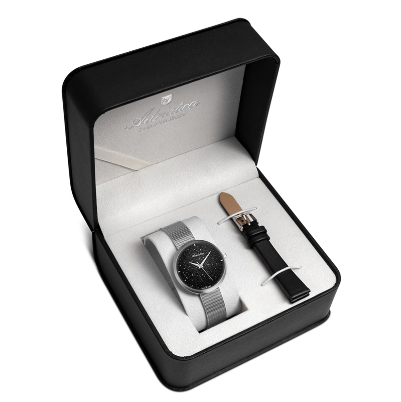 Adriatica A3646.5114QBL - SET - zegarek damski