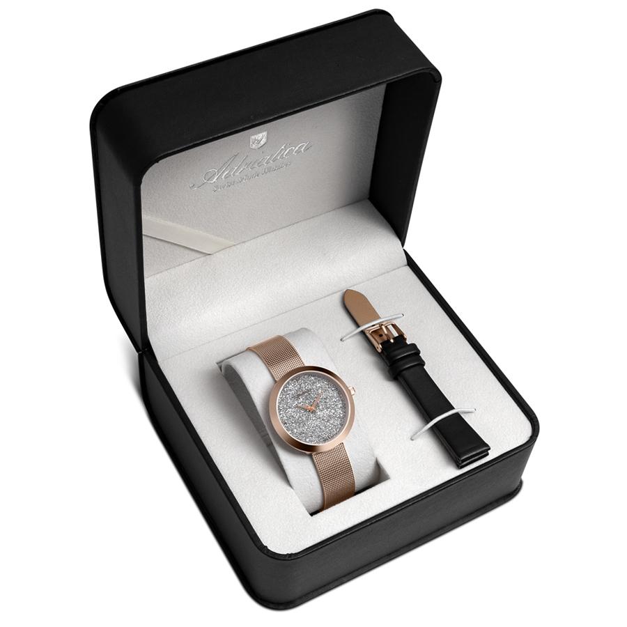 Adriatica A3646.9113QBL-SET - zegarek damski