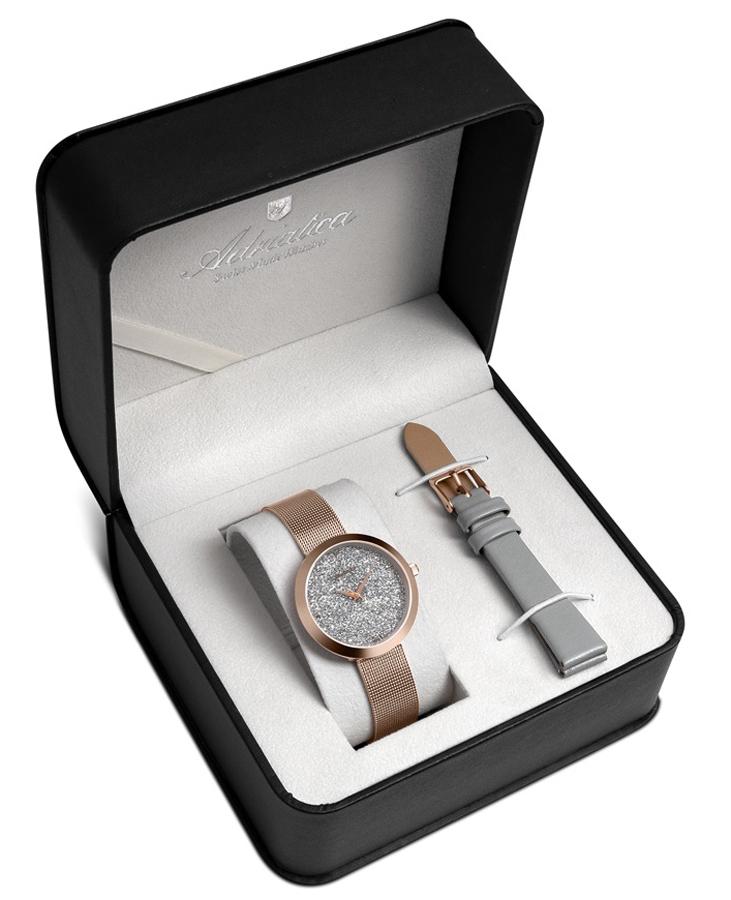 Adriatica A3646.9117QGR-SET - zegarek damski