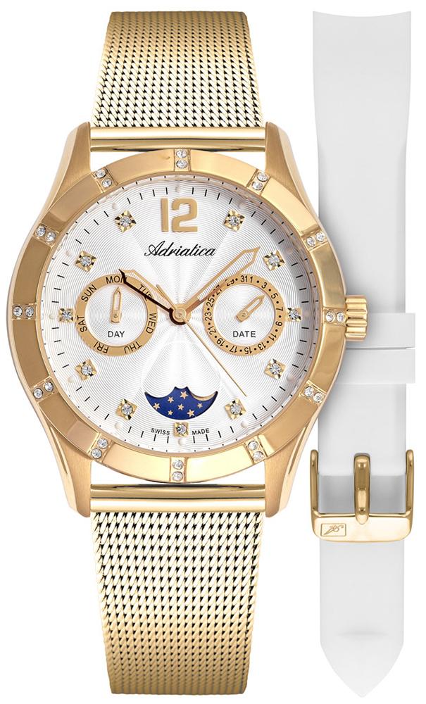 Adriatica A3698.1173QFZ - SET - zegarek damski