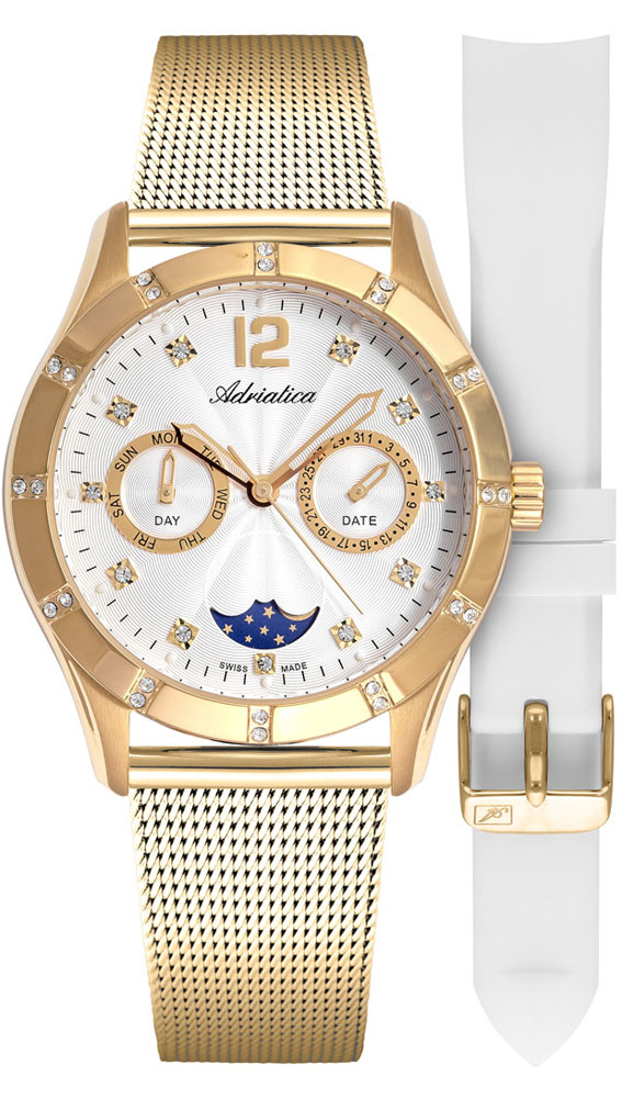 Adriatica A3698.1173QFZ-SET - zegarek damski