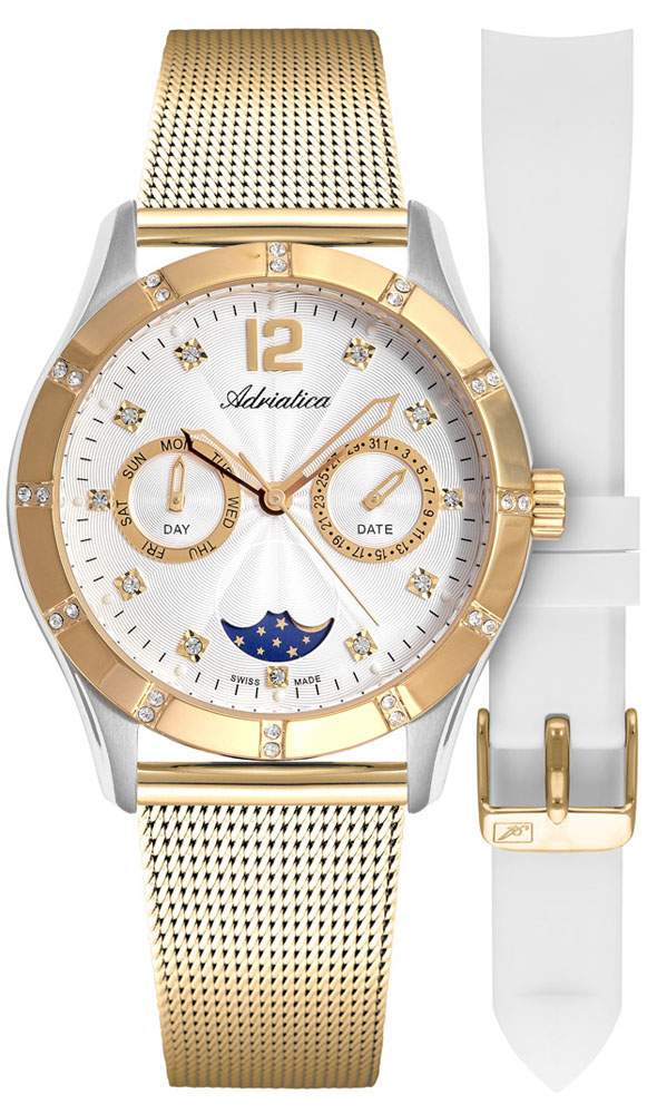 Adriatica A3698.2173QFZ-SET - zegarek damski