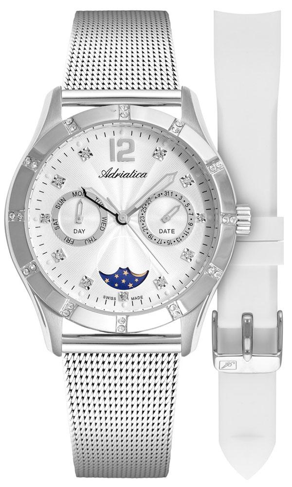 Adriatica A3698.5173QFZ-SET - zegarek damski