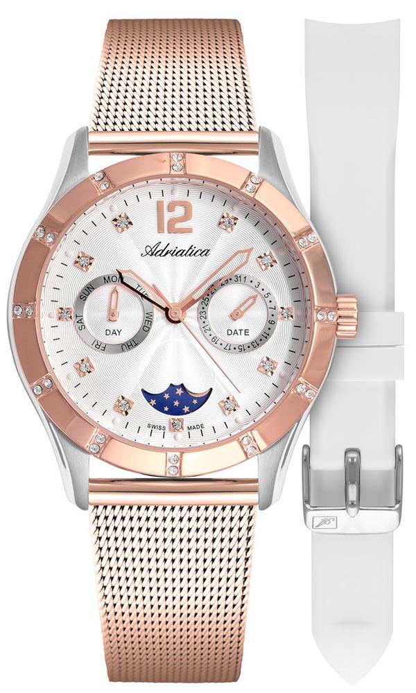 Adriatica A3698.R173QFZ-SET - zegarek damski