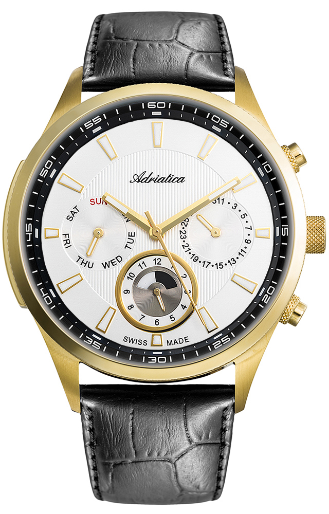 Adriatica A8149.1213QF - zegarek męski