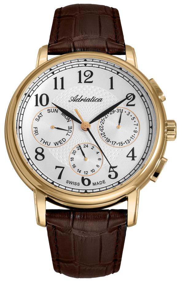 Adriatica A8256.1223QFXL - zegarek męski