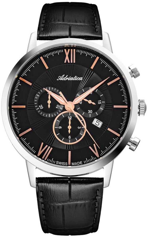 Adriatica A8298.52R4CH - zegarek męski
