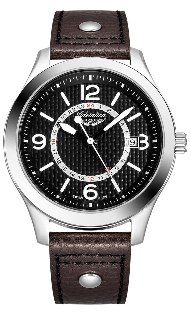 Adriatica A8312.5B24Q - zegarek męski
