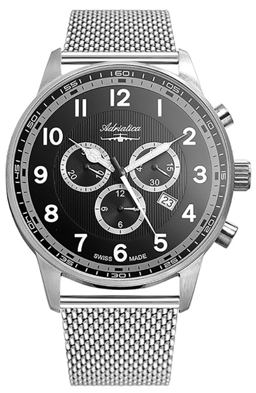 Adriatica A1076.5124CHXLG - zegarek męski