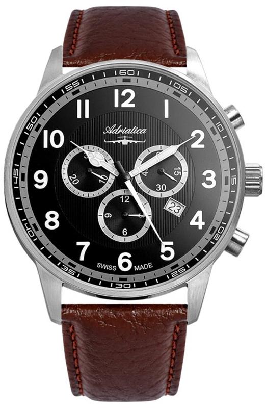 Adriatica A1076.5B24CHXL - zegarek męski