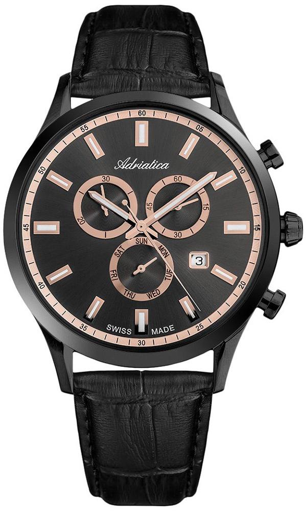 Adriatica A8150.B2R4CH - zegarek męski